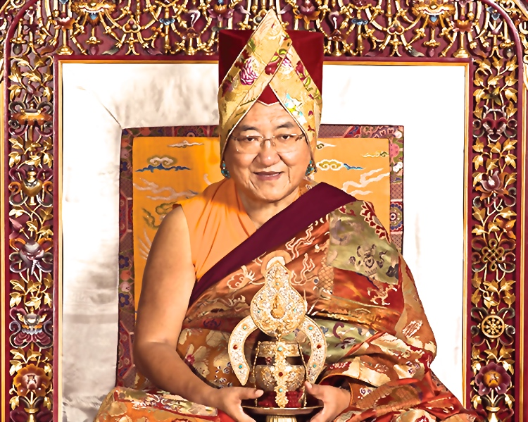 His Holiness the 41st Sakya Trizin
